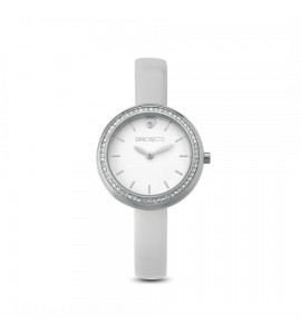 Orologio opsobjects white Charme silver pelle bianco opspw-565