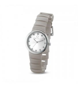 Orologio opsobjects Roma da donna silver crystal beige cipria opspw-562