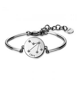 bracciale chakra in acciaio zodiaco