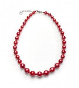 Collana Perleadi rossa coa27a11