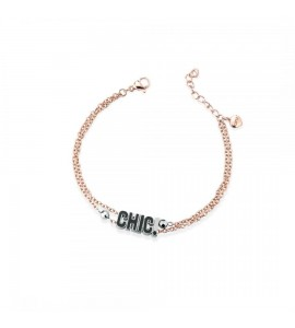 bracciale opsobjects word chic black