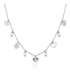 Collana donna gioielli Brosway Chant in acciaio 316L ba26