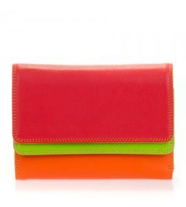 Portamonete/Portafoglio donna Mywalit con doppio risvolto Jamaica Double Flap Purse/Wallet 250-12