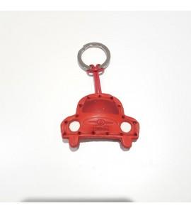 Portachiavi Keychain in cuoio La Cuoieria Made in Italy Auto p349