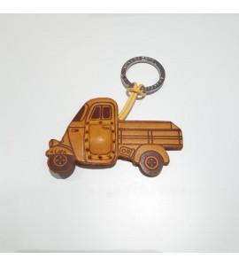 Portachiavi Keychain in cuoio La Cuoieria Made in Italy Lapa p364
