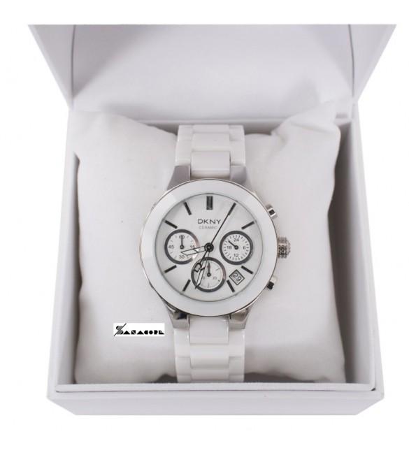 Orologio cronografo Donna DKNY ceramica bianco NY4912