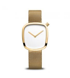 Orologio solo tempo donna Bering Classic maglia milanese 18034-334