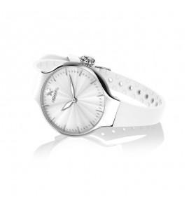 Orologio solo Tempo Donna Hoops Nouveau Cherie Bianco 2634l-s02