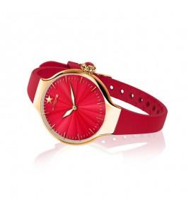Orologio solo Tempo Donna Hoops Nouveau Cherie Gold Rosso 2634l-yg03