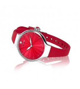 Orologio solo Tempo Donna Hoops Nouveau Cherie Rosso 2634l-s03